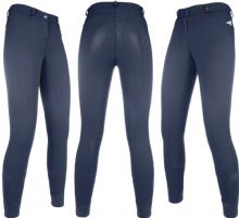 HKM EMPIRE BREECHES - DARK BLUE -SILICONE SEAT - RRP £54.95